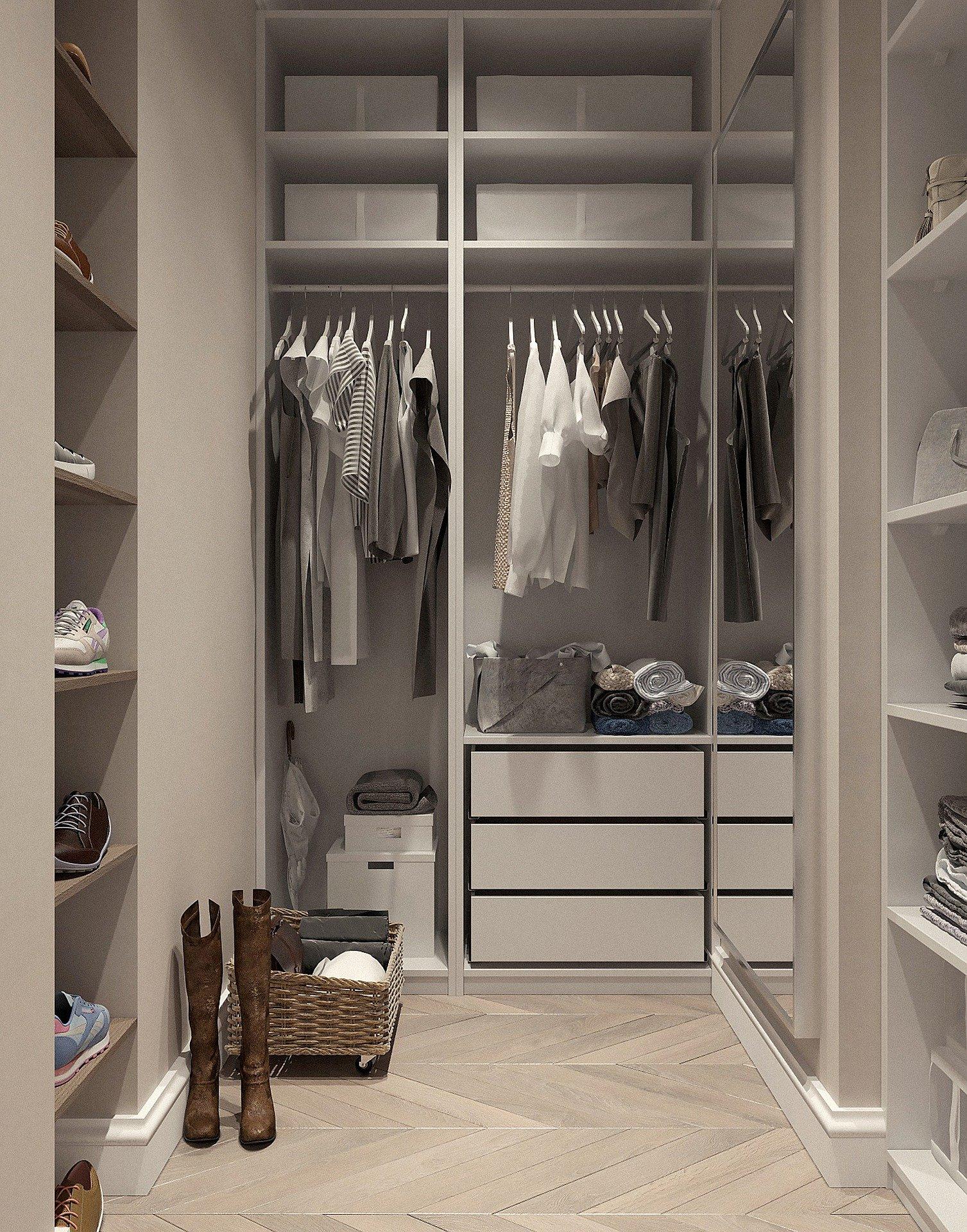 סידור ארונות בגדים בשיטת מארי קונדו